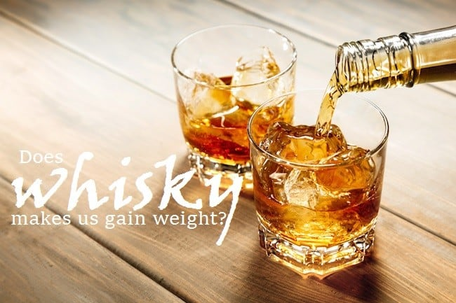 whisky and weight gain