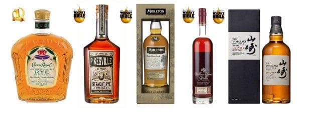 Top 5 whiskies de 2016