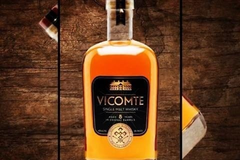 vicomte french whisky