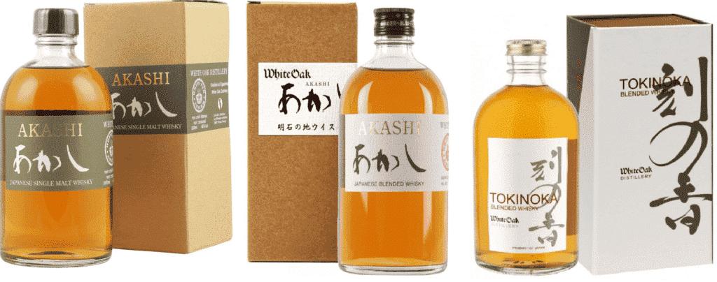 white oak japanese whisky expressions