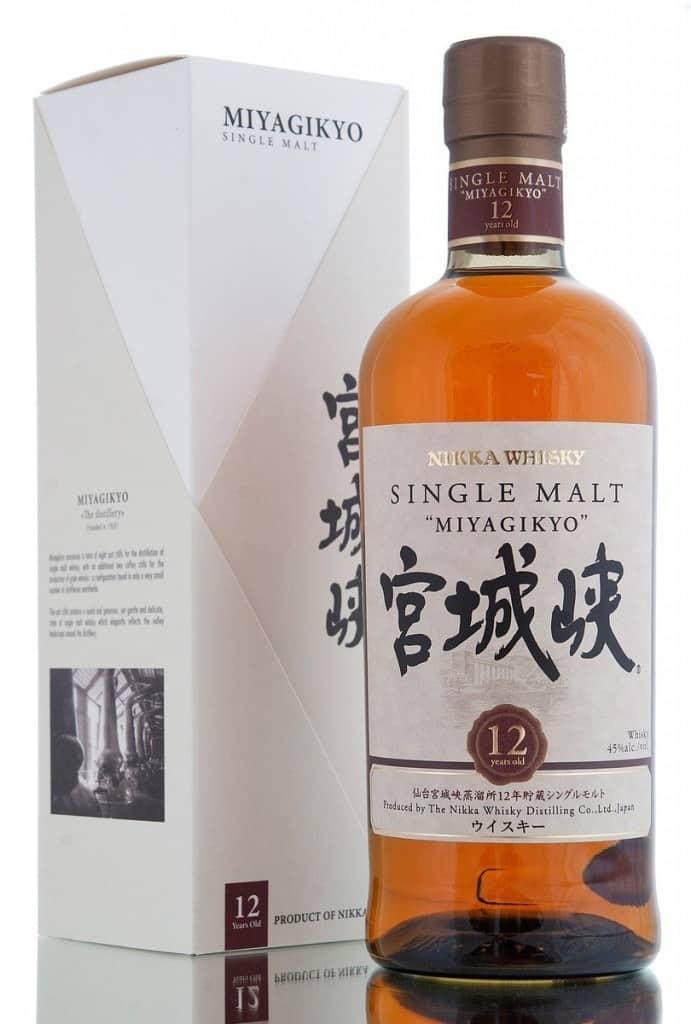 Nikka Miyagikyo 12 years bottle japanese whisky