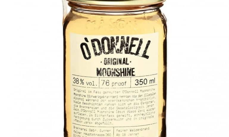 odonnell moonshine original german whisky
