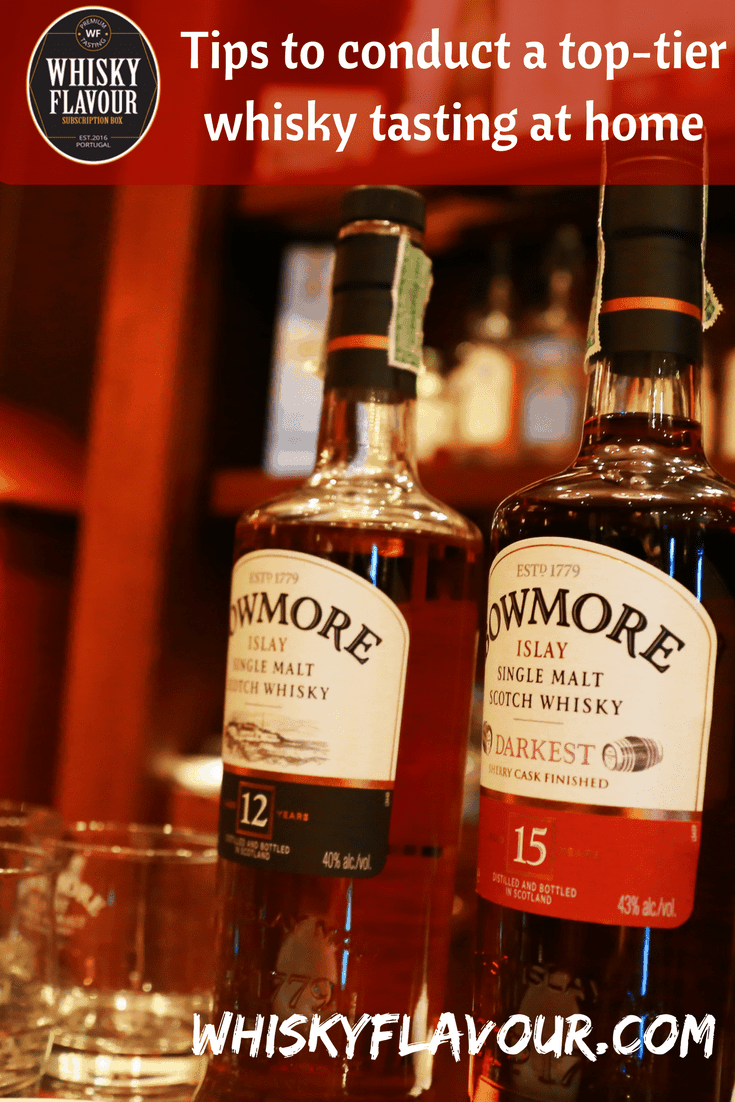 Tips to conduct a top-tier whisky tasting at home