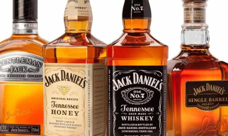 Jack Daniels Bottle Shot