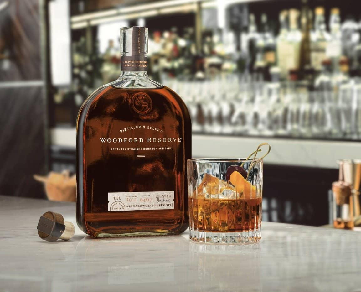 Bottle of Woodford Reserve Double Oaked