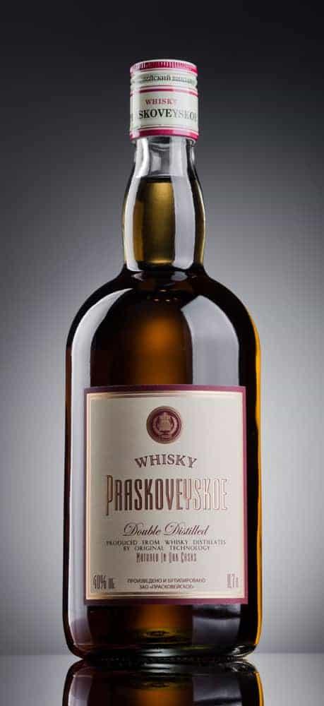 russian whisky Praskoveyskiy 3 year