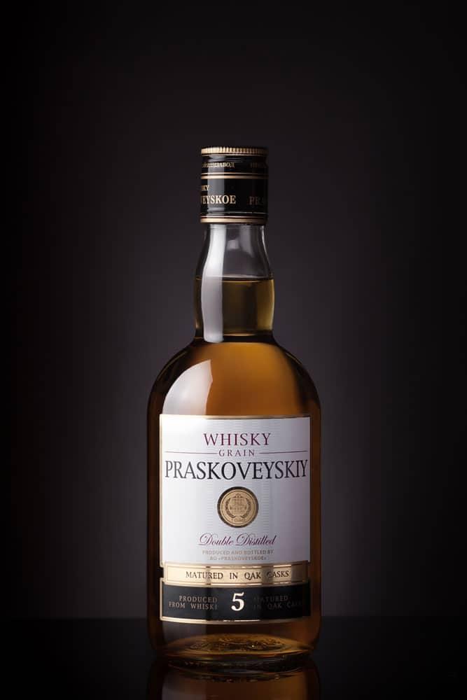 russian whisky Praskoveyskiy 5 year