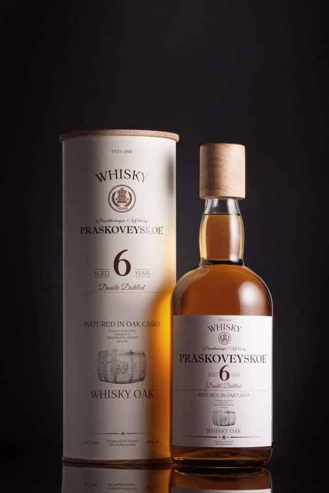 russian whisky Praskoveyskiy 6 year