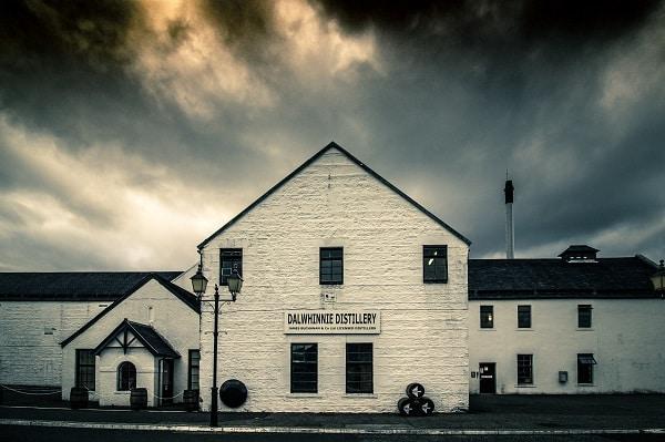 Distillery in Scotland