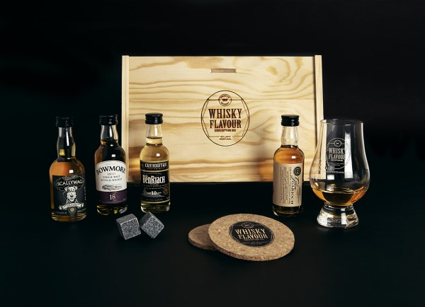 Costumizarion of the whiskey subscription box