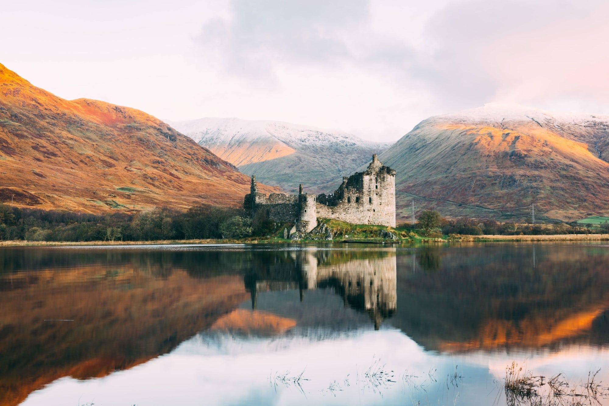 Take a tour around Scotland with scotch whisky