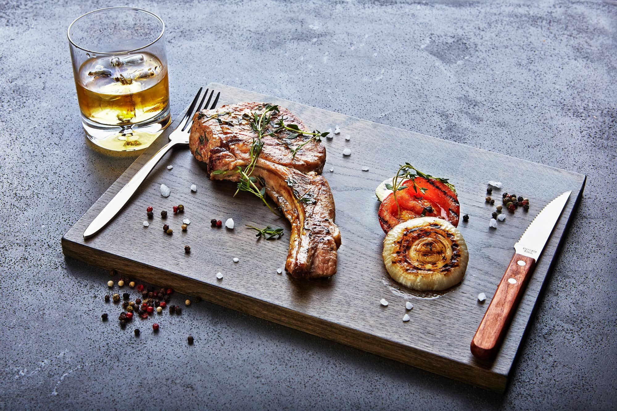 Find out the best food to go with whisky
