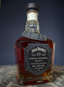 Bottle of Jack Daniels Single Barrel Select