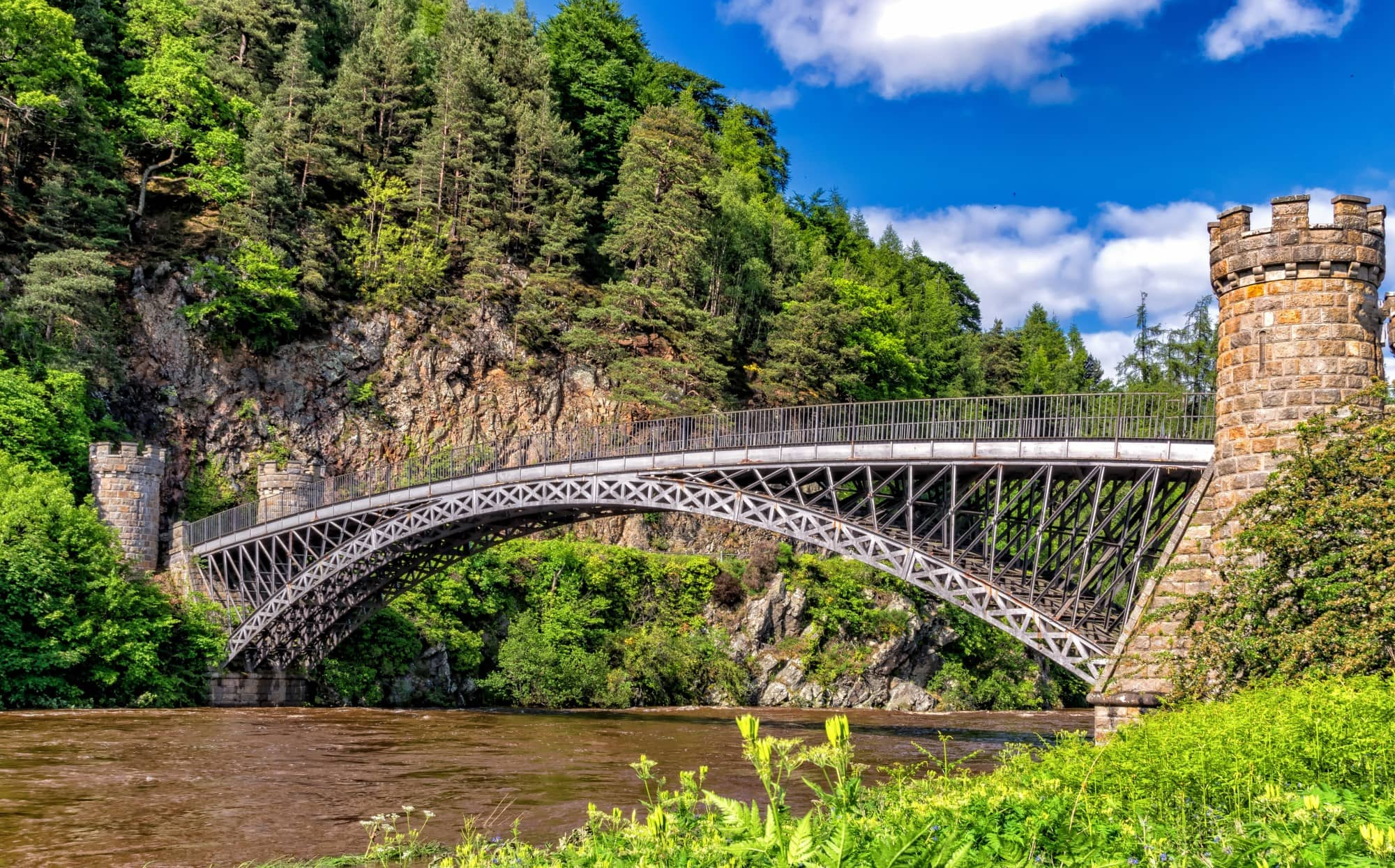 A bridge in Speyside, a Scotland's region