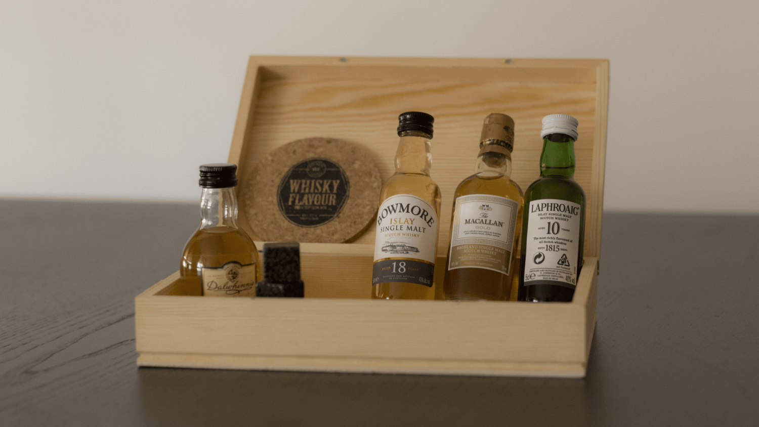 Example of the Whisky Flavour Subscription Box