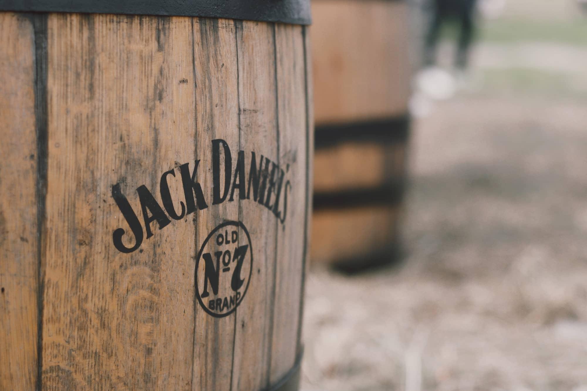 Barrel of Jack Daniels No7