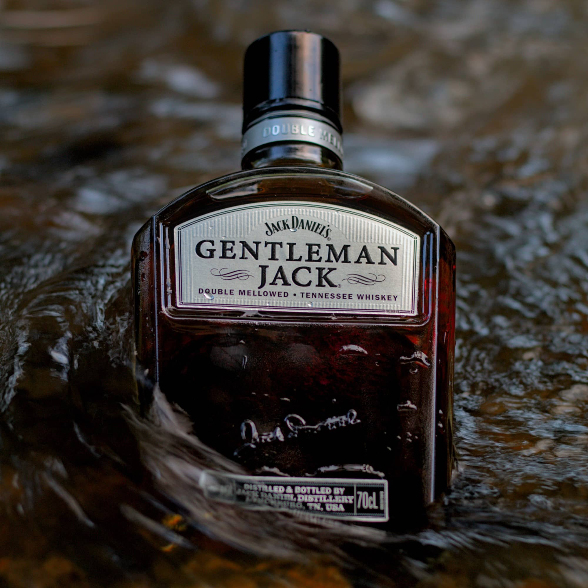 Bottle of Jack Daniels Gentleman Jack