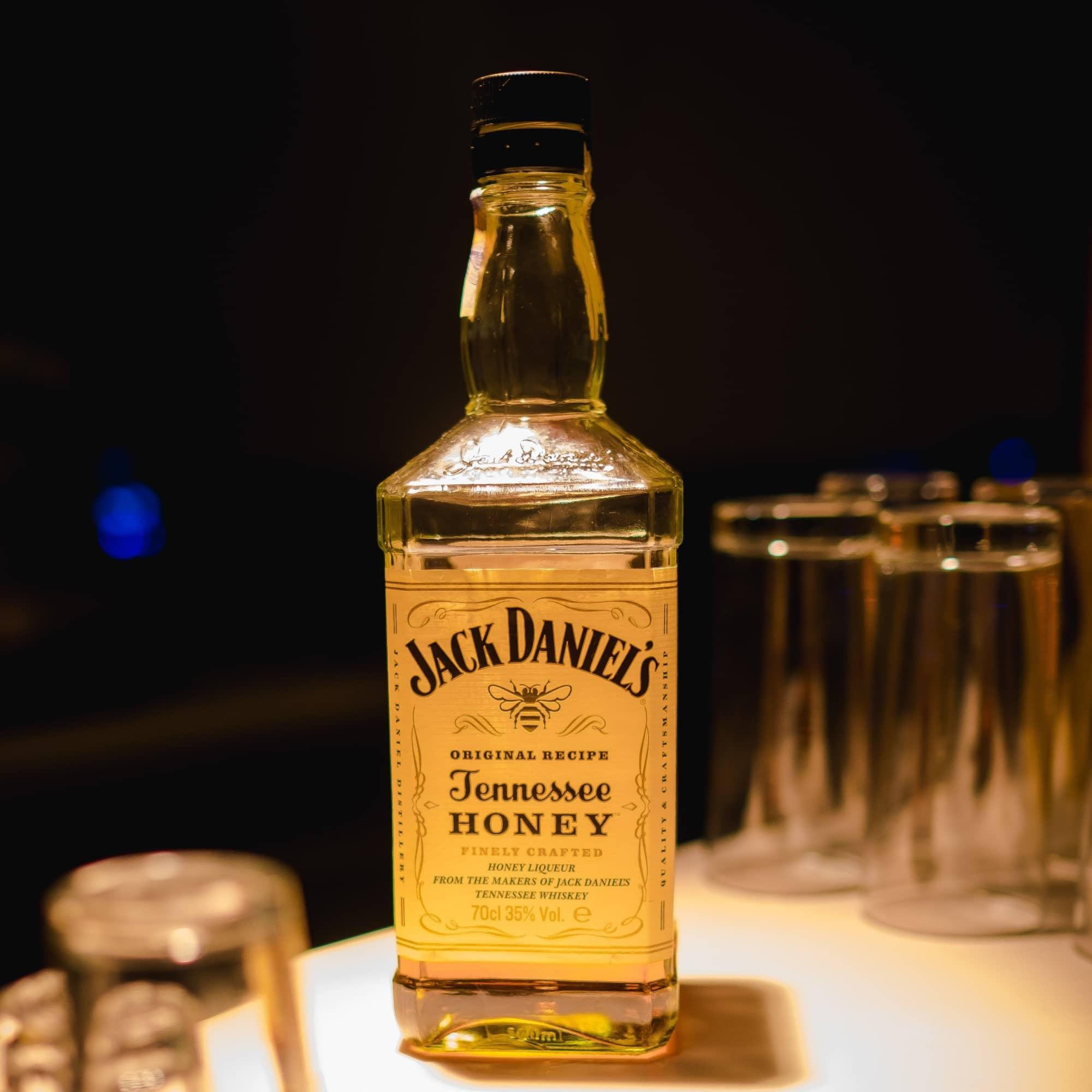 Bottle of Jack Daniels Honey