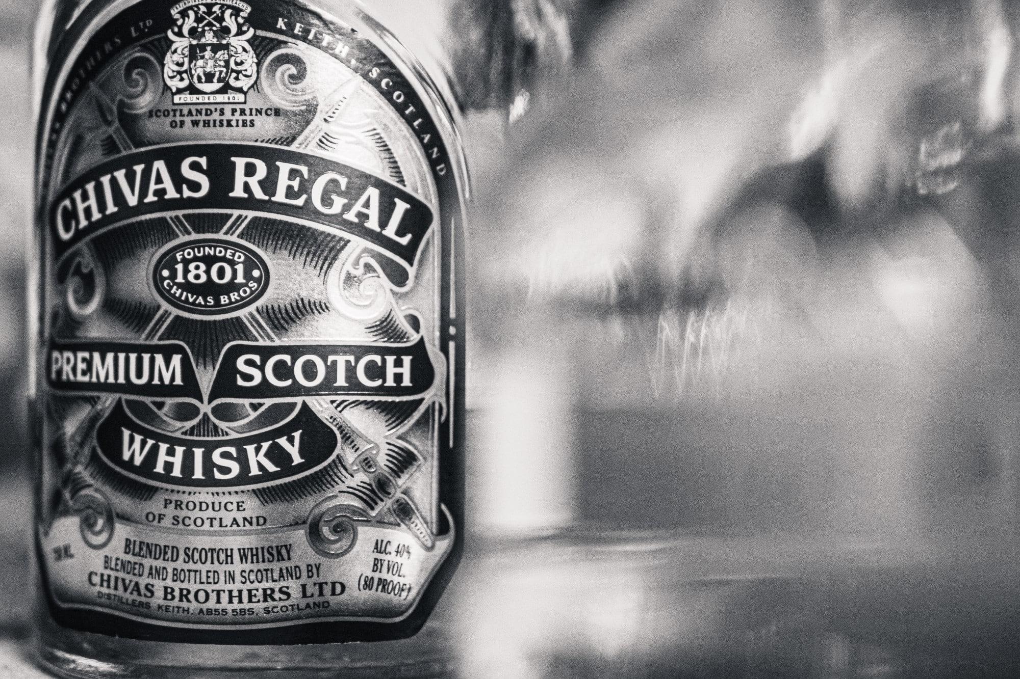 Chivas Regal è un tipo di blended scotch